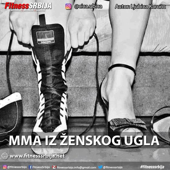 MMA iz ženskog ugla