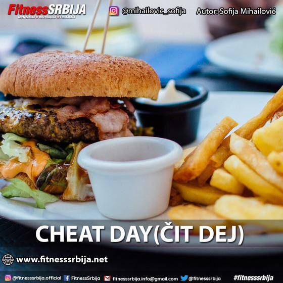 Cheat day (čit dej)