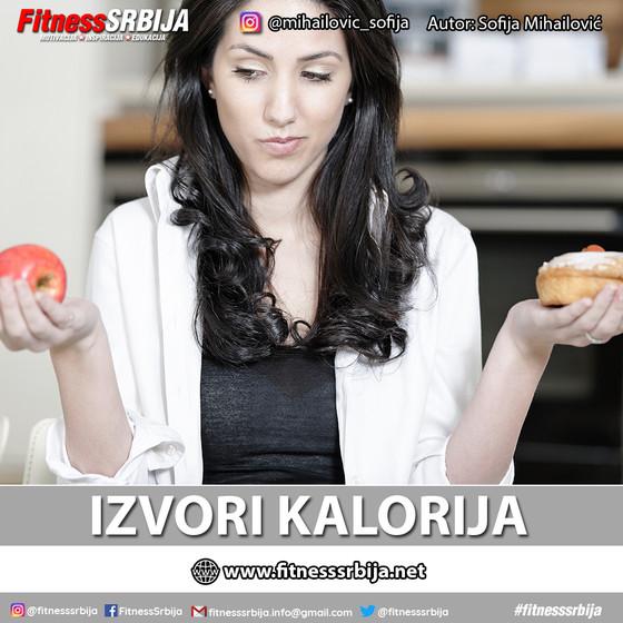 Izvori kalorija
