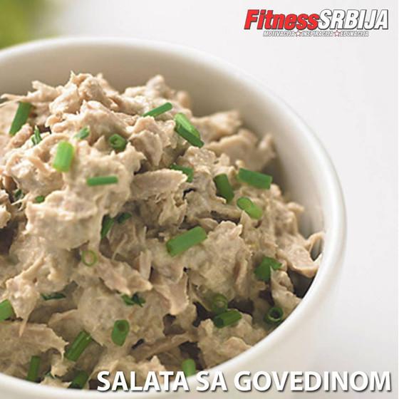 Salata sa govedinom