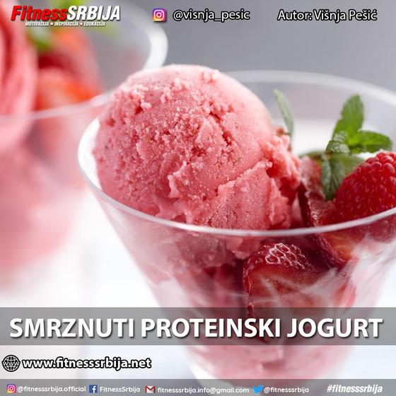 Smrznuti proteinski jogurt
