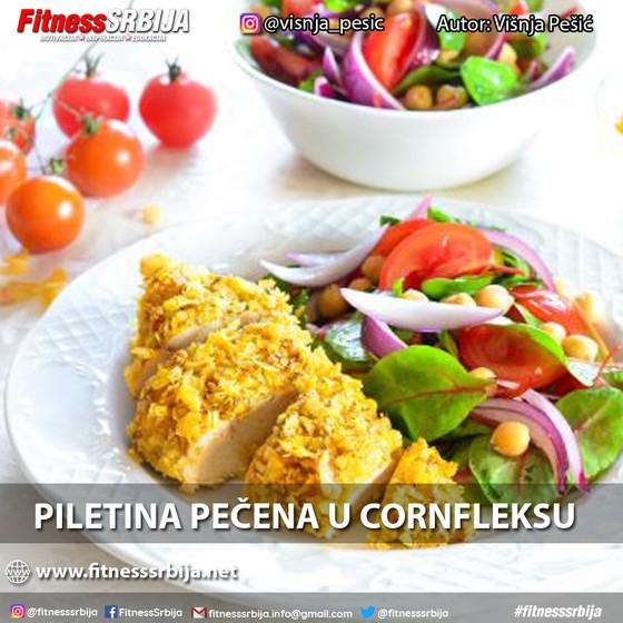 Piletina u cornfleksu