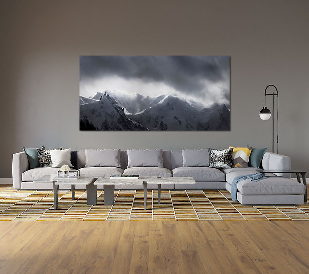 Panoramique Aiguille du Midi
