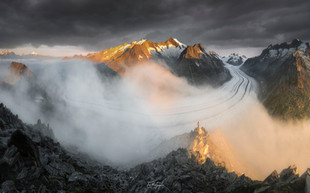 Glacier Aletsch