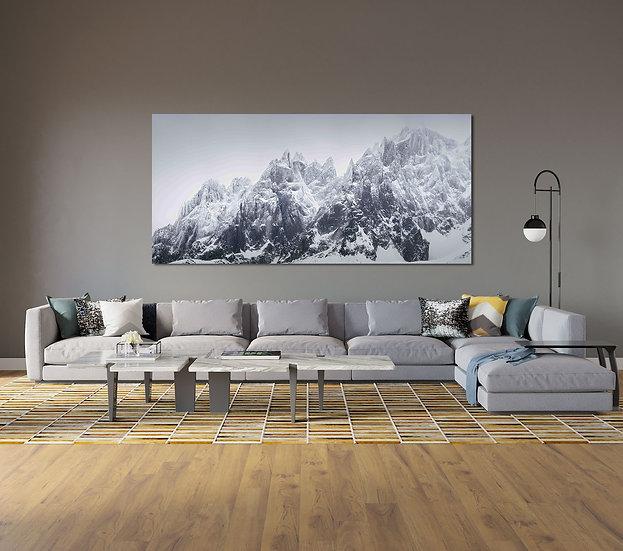 Panoramique Aiguilles de Chamonix