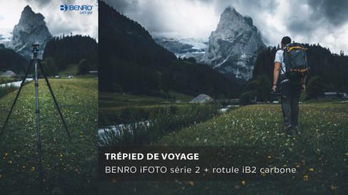 BENRO iFOTO - Rotule iB2 Carbone