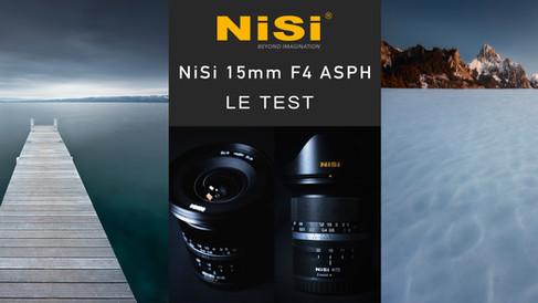 TEST OBJECTIF NiSi 15MM F4