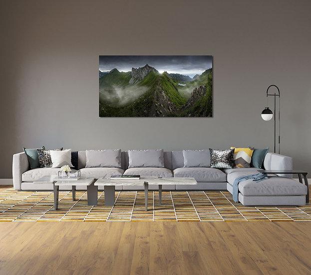 Panoramique Alpes du Léman