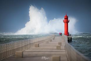 Tempête Berck sur Mer