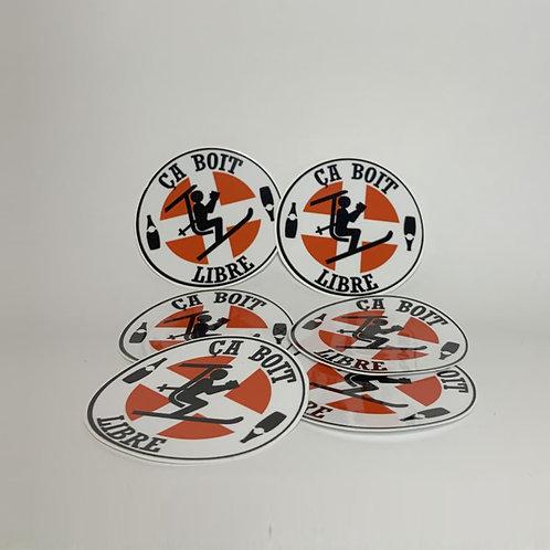 10 x stickers #CBL