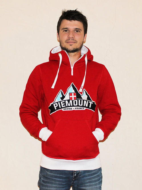 Mountain Hoodie / Red Men