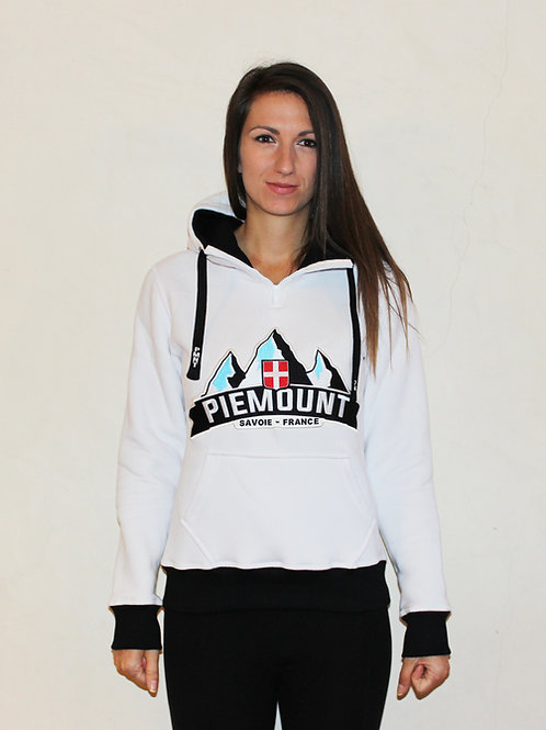 Mountain Hoodie / White Women