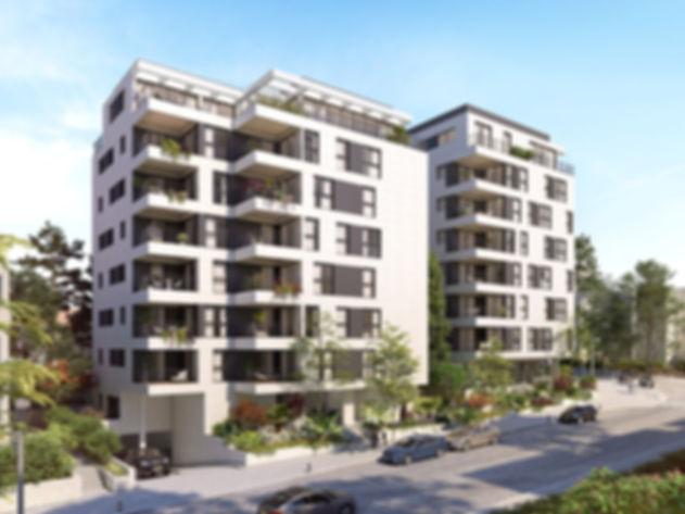 """פרויקט תמ""""א 38/2 הריסה ובנייה, בניית 2 בניינים בני 7 קומות עם חניון תת קרקעי משותף"""