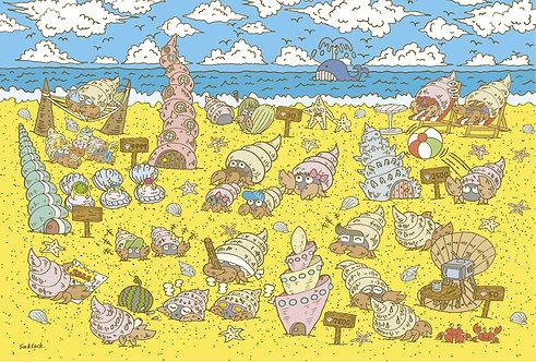 """#010 """"Crab House"""" ポストカード"""