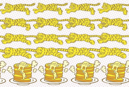 """#009 """"from Tiger to Pancake"""" ポストカード"""