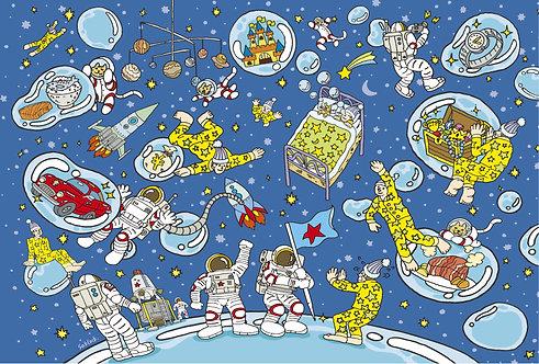 "#016 ""Dream Space"" ポストカード"