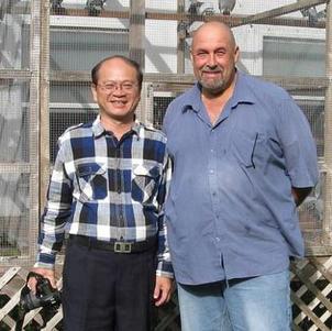 MYSELF & STEPHEN HASIO FROM TAIWAN