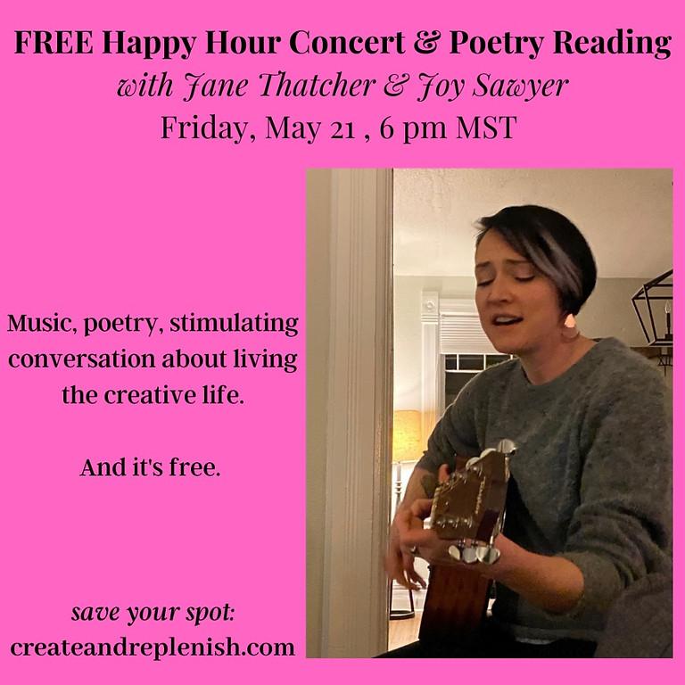 FREE Happy Hour Concert & Poetry Reading