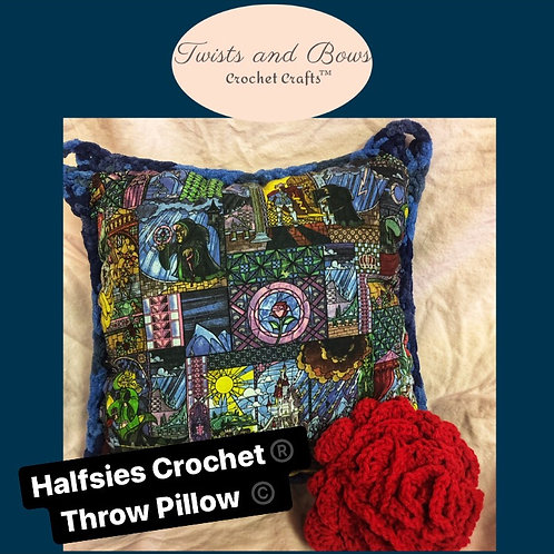 Beauty and the Beast Inspired Pillow- Available Now