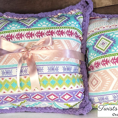 The Halfsies Crochet®Throw Pillow - Available Now