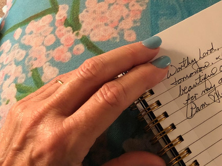 What Do Blue Nails Have to do with Freedom in Christ?