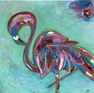Footloose Flamingo