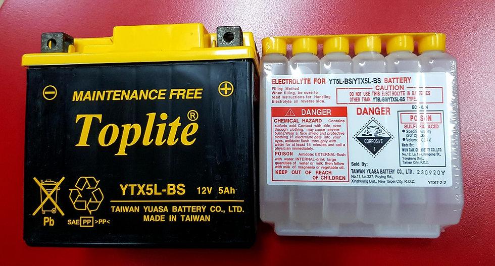 Battery Toplite YT5L-BS