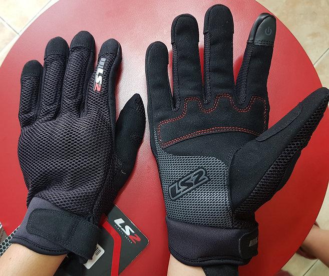 LS2 Găng tay Ray Man Đen