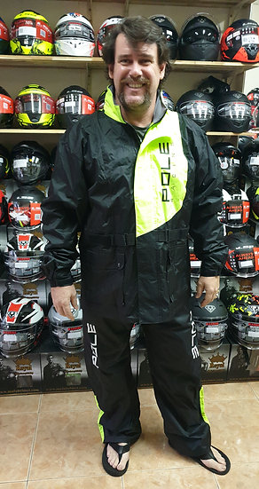 Pole Racing rain suit