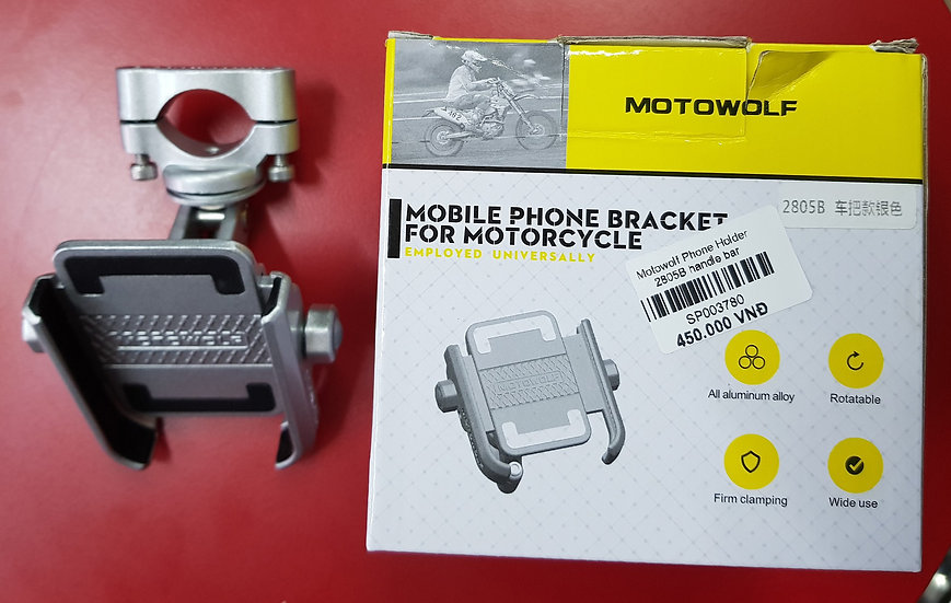 Motowolf Phone Holder Handle Bar