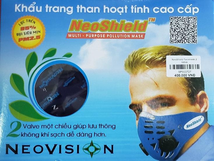 Neoshield Facemask 2 Valve
