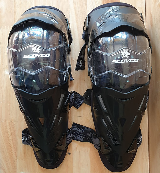 Scoyco knee and shin guards