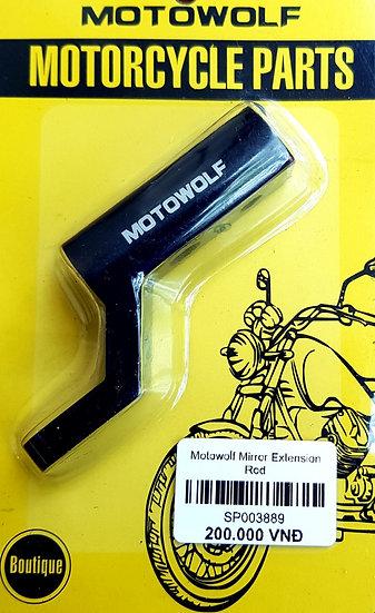 Motowolf MirrorExtension Rod