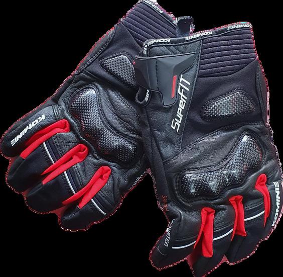 Komine Carbon / Breathable / Waterproof Gloves