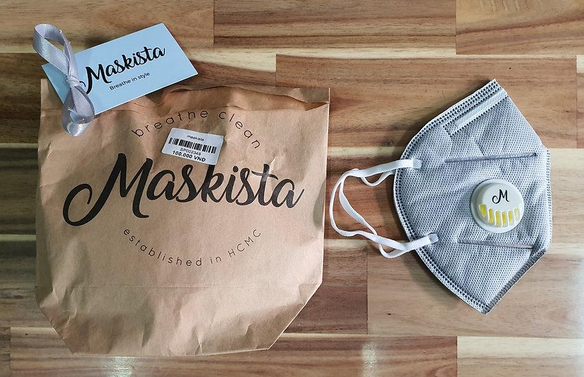Maskista Disposable Pollution Masks x 4