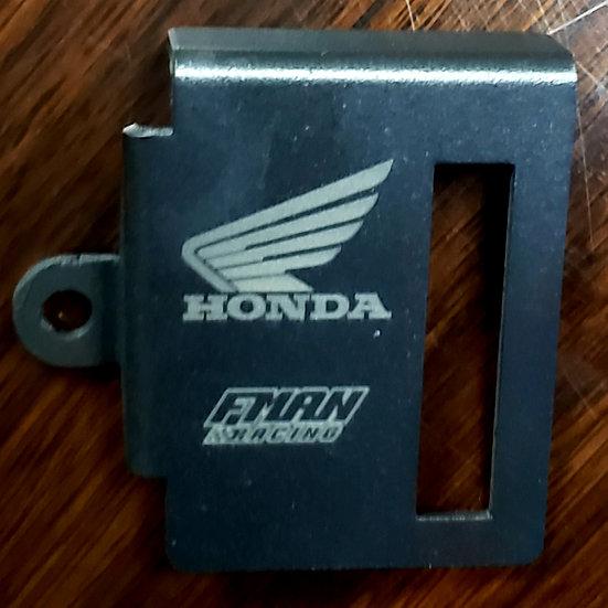 Honda CB500X rear brake reservoir cover