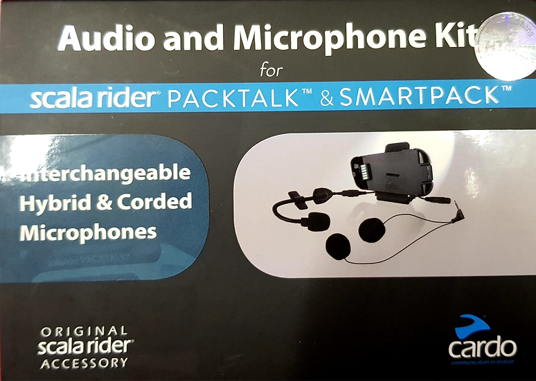 Cardo Audio and Microphone Kit