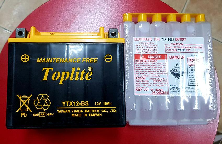 Battery Toplite YTX12-BS
