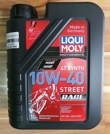 Liqui Moly 10W-40 Synthetic