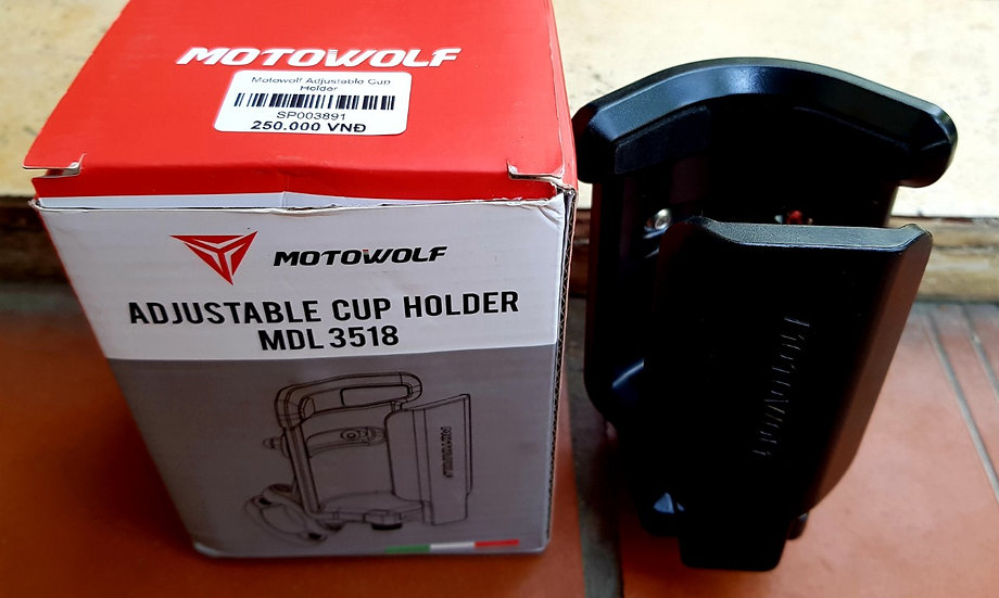 Motowolf Adjustable Cup Holder