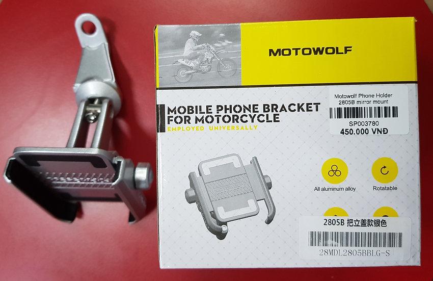 Motowolf Phone Holder with Mirror