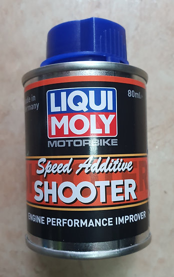 Liquid Moly Speed Additive.