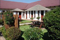 Guest Lodge Front Garden