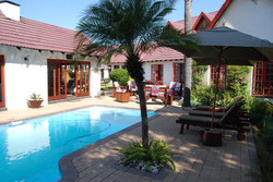 Guest Lodge Swimming Pool Back
