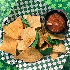 Chips and Fresh Salsa Flight