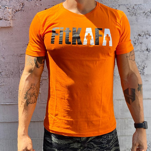 FitKAFA Holigan Turuncu T-Shirt