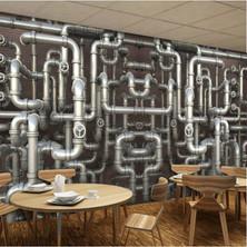 Break Room Wallcovering