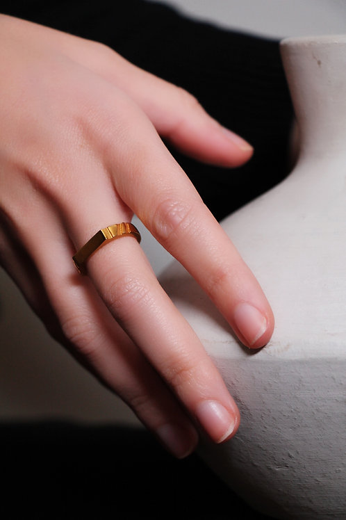 Golden Greek Ring
