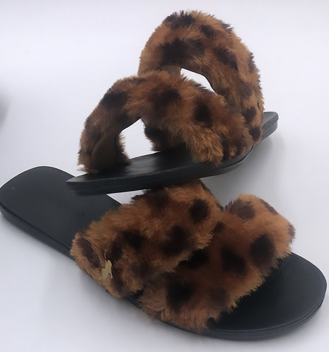 Vanidosa Fab Slippers - CHEETAH
