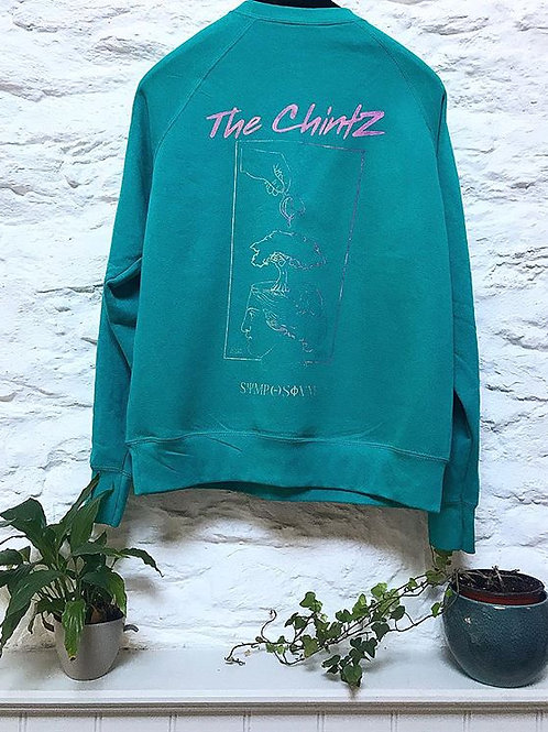 Chintz Jumper Turquoise